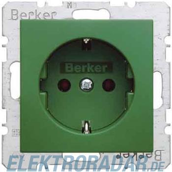 Berker SCHUKO-Steckdose gn/gl 47438913