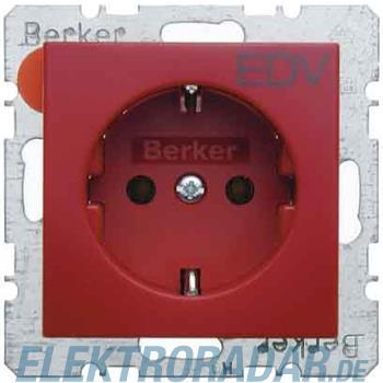 Berker SCHUKO-Steckdose rt/gl 47438922