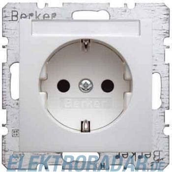 Berker SCHUKO-Steckdose pws/gl 47498989