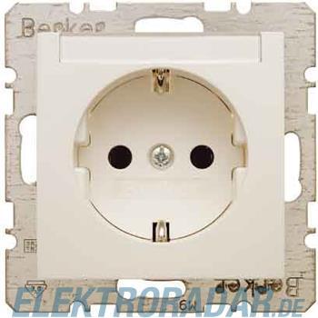 Berker SCHUKO-Steckdose ws/gl 47508982
