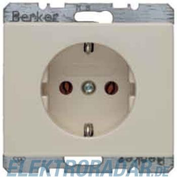 Berker Schuko-Steckdose ws/gl 47150002