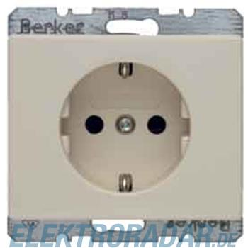 Berker Schuko-Steckdose ws/gl 47350002