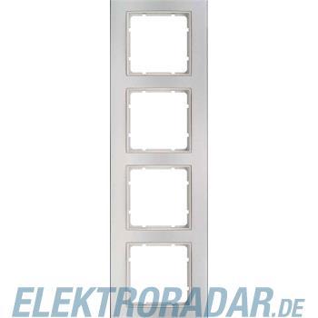 Berker Rahmen 4f.alu/pws 10143904