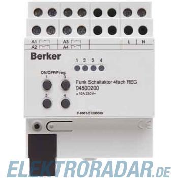 Berker Funk-Schaltaktor 4f. lgr 94500200