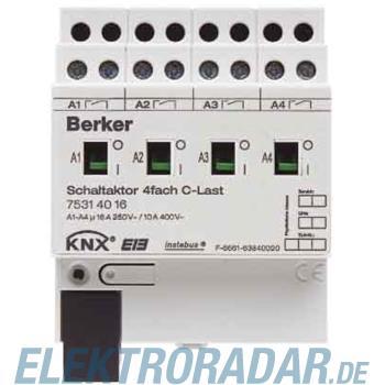 Berker Schaltaktor 4f. 75314016