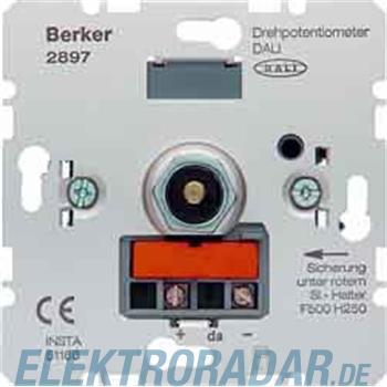 Berker Drehpotentiometer 2897