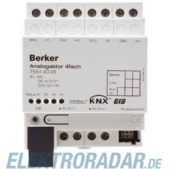 Berker Analogaktor 4fach REG inst 75514001