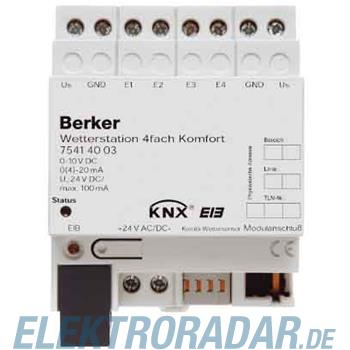 Berker Wetterstation 4fach Komfor 75414003