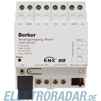 Berker Analogeingang 4fach REG in 75414004