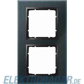 Berker Glasrahmen B.7 Glas schwar 10126616