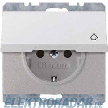 Berker SCHUKO-Steckdose mit Klapp 47517124