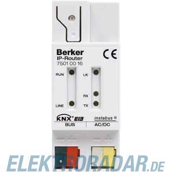 Berker IP-Router REG instabus KNX 75010016