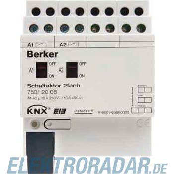 Berker Schaltaktor 2fach 16 A Sch 75312008
