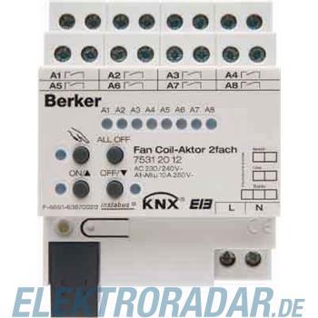 Berker Fan Coil-Aktor 2fach 10 A 75312012