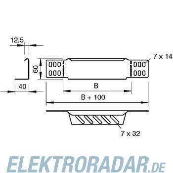 OBO Bettermann Reduzierwinkel/Endabschluß RWEB 610 VA4301