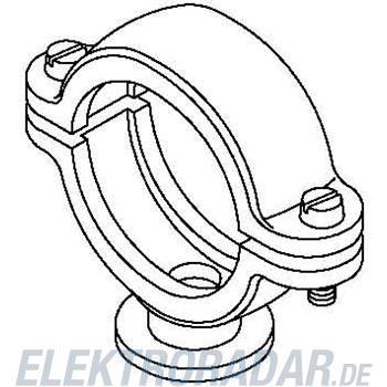 OBO Bettermann ISO-Sockelschelle 2960 12 M6 LGR