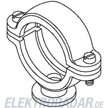 OBO Bettermann ISO-Sockelschelle 2960 54 M6 LGR