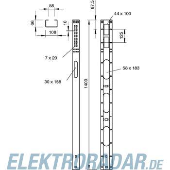 OBO Bettermann Motoranschlusssäule MAS 140 10 FT