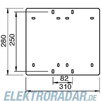 OBO Bettermann Geräteplatte GP 31 28 FT