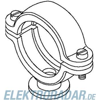 OBO Bettermann ISO-Sockelschelle 2960 40 M6 LGR
