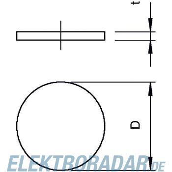 OBO Bettermann Dichtscheibe 107 V PG 7 PVC