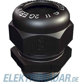 OBO Bettermann Kabelverschraubung VTEC EX PG21 SW