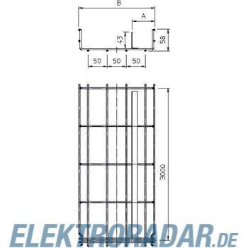 OBO Bettermann Gitterkabelrinne GRM-T 55 100 G