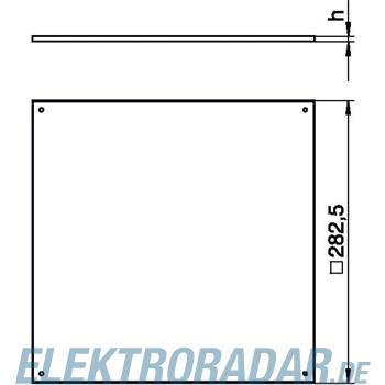 OBO Bettermann Bodenbelag-Einlegekassette BEK F250-2 3