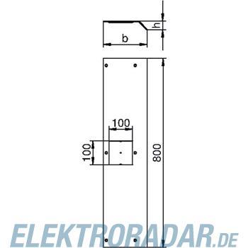 OBO Bettermann Geräteanschlussdeckel AIKF DAT 15040