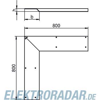 OBO Bettermann Inneneck-Blinddeckel für A AIKF IEA 15040