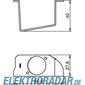 OBO Bettermann Montageplatte MPR2XD