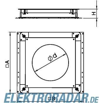 OBO Bettermann Unterflur-Gerätedose UGD 350-3 R7