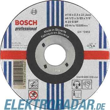Bosch Trennscheibe 2 608 600 318