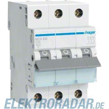 Hager Leitungsschutzschalter MCN332