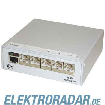 BTR Netcom ISDN-Verteiler ISDN TE-Hub 1/5 AP