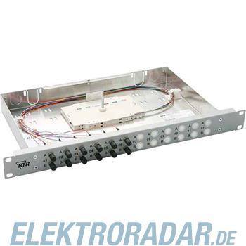 BTR Netcom 19 Zoll Spleißgehäuse OpDAT fix 6SC-D OM3