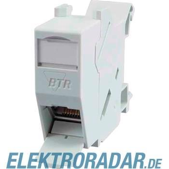 BTR Netcom Hutschienenmodul,Kat.6 TN E-DATmod-REG-lgr