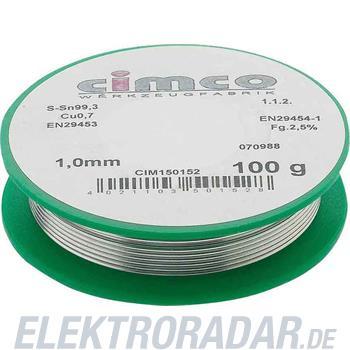 Cimco Elektroniklot bleifrei 150178