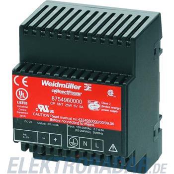 Weidmüller SPS-Stromversorgung CP SNT 25W 5V 5A