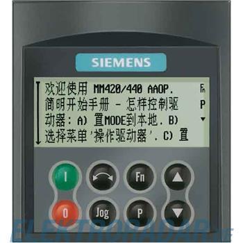 Siemens Operator Panel (CAOP) 6SE6400-0AP00-0CA0