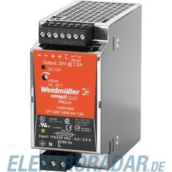 Weidmüller Stromversorgung CP T SNT180W 24V7,5A