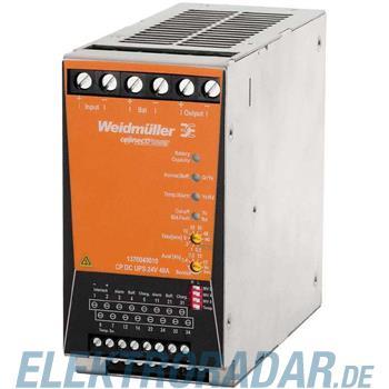 Weidmüller USV Steuereinheit CP DC UPS 24V 40A