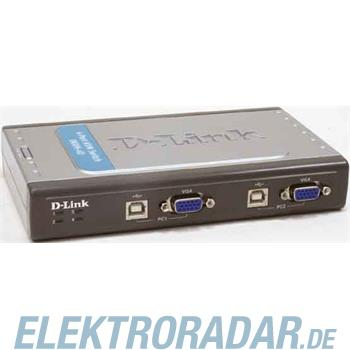 DLink Deutschland 4-Port USB KVM-Switch DKVM-4U