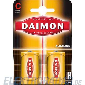 Procter&Gamble Dura. Batterie Alkali DA C LR14 K2