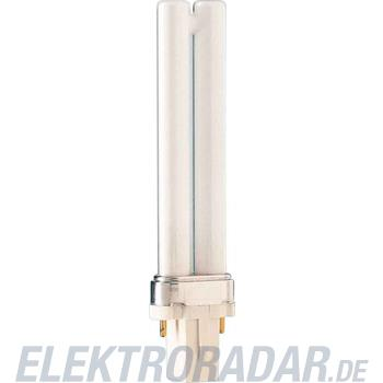 Philips Kompaktleuchtstofflampe PL-S 7W/827/2P