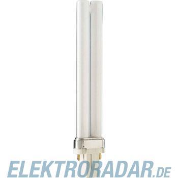 Philips Kompaktleuchtstofflampe PL-S 9W/830/2P