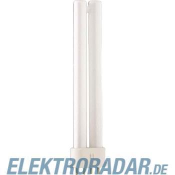 Philips Kompaktleuchtstofflampe PL-S 9W/830/4P