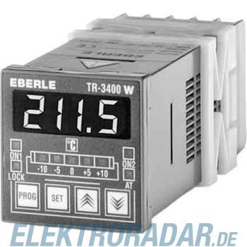 Eberle Controls Fronttafeleinbauregler TR 3400 W-10