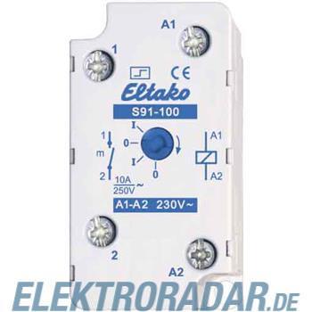 Eltako Stromstoßschalter f.EB/AP S91-100-230V
