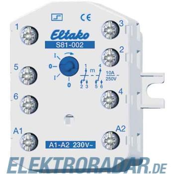 Eltako Stromstoßschalter f.EB/AP S81-002-8V